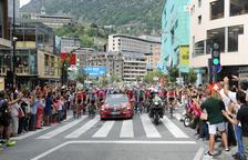 Unes 300 persones vetllaran pel dispositiu de l'etapa de La Vuelta