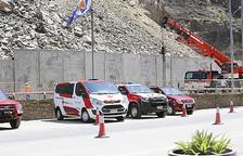 Govern diu que el mur provisional garanteix un trànsit segur