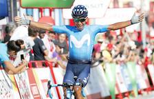 Quintana guanya l'etapa i Roche es vesteix de vermell