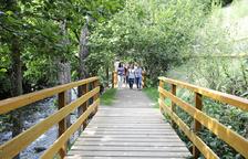 Govern inaugura el darrer tram del camí entre Ordino i el parc de Sorteny