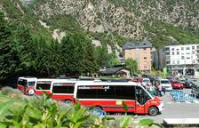 Els nous autobusos comunals d'Andorra la Vella seran multifuncionals itambé faran  serveis d'ambulància.