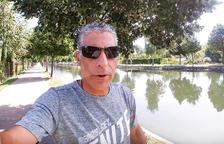 Imatge del vídeo que va publicar ahir Jesús Moll.