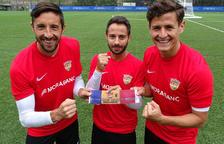 Ludo, Fede i Bover, escollits capitans de l'FC Andorra