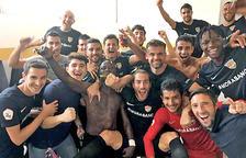 Un gol de Casadesús al minut 95 fa líder l'Andorra