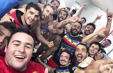 El VPC obté la primera victòria al camp del Tarascó (15-19)