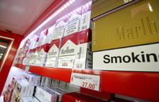 Cap cartró de tabac no es podrà vendre a un preu que sigui inferior als 24,95 euros