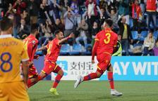 Andorra supera Moldàvia i suma el tercer triomf oficial
