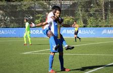 Victòria patida de l'FC Andorra, que segueix líder (2 a 1)