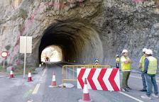 Comencen els treballs per eixamplar l'actual túnel de Tres Ponts