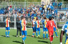 El lideratge de l'FC Andorra al seu grup comença per la defensa