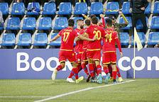 Partit del FC Andorra contra Moldàvia