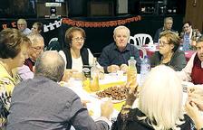Els padrins d'Encamp van celebrar Tots Sants amb un berenar