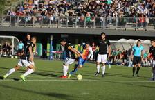 L'FC Andorra suma el seu quart empat en cinc jornades contra el Llagostera (1 a 1)