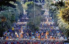 L'independentisme català torna a demanar la llibertat dels seus líders