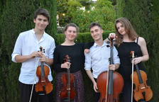 El Quartet Vivancos, segona cita del cicle 'Cambra romànica'
