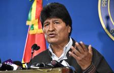 Morales dimiteix com a president després de convocar eleccions