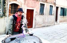 L''acqua alta' va entrar al pavelló de Shangti a Venècia
