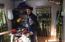 El tècnic de la Federació d'Esquí Guillem Cairat.
