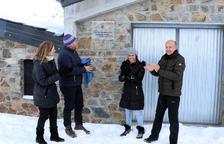 Els cònsols i consellers del comú d'Encamp a la inauguració de l'Estació de Tractament d'Aigua Potable de Les Abelletes del Pas de la Casa