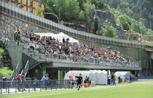 El PS demana garanties perquè l'FC Andorra jugui a Encamp