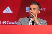"""Luis Enrique assegura que Robert Moreno és una persona """"deslleial"""""""