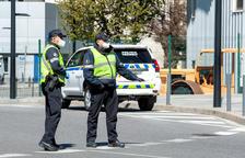 La policia posa 140 multes durant la campanya d'ITV
