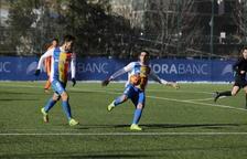 L'FC Andorra trenca la ratxa de dotze partits sense perdre.