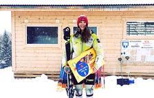 Carla Mijares, primer lloc sub-18 a Funesdälen