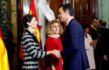 Sánchez insisteix a situar dins de la Constitució el pacte amb ERC