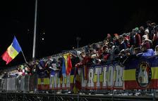 Els abonats de l'FC Andorra no paguen contra el 'Lega'