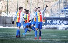 Iker, al minut 95, dona una victòria agònica a l'Andorra (4-3)