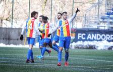 Iker Goujón abona l'FCAndorra a l'èpica (4-3)