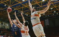 El MoraBanc guanya al Patras però acaba segon del grup A a l'Eurocup