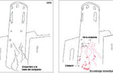 Dos estudis alertaven d'esquerdes a la torre de Sant Vicenç