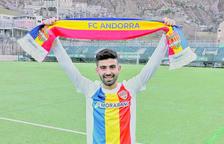 El migcampista Adrià Lledó, nou fitxatge d'hivern de l'FC Andorra