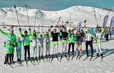 El Naturlandia Esquí Club obre la temporada amb sis podis