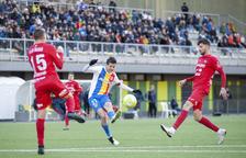 L'FC Andorra supera l'Olot per la mínima i puja a la tercera plaça