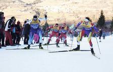 Irineu Esteve signa un brillant vuitè lloc a l'última cursa del Tour de Ski