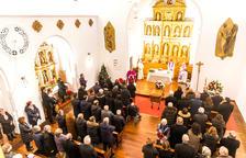 L'església de la Massana s'omple per acomiadar Antoni Morell