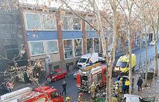 El conductor d'un vehicle andorrà pateix un aparatós accident a Sabadell