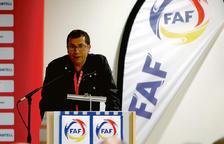 David Rodrigo pren el càrrec de secretari general de la FAF