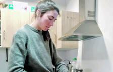 L'esquiadora Carola Vila és aficionada a cuinar