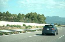 Un vehicle andorrà sancionat per excés de velocitat.