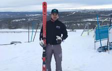 Marc Oliveras, 22è a la Copa d'Europa de ski cross