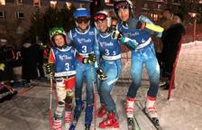 Andorra obté l'or al Team Event, la nova prova del Trofeu Borrufa