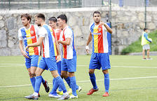 Ernest Forgas, a punt per al duel d'avui de l'Andorra contra el cuer