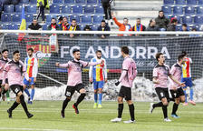El cuer allarga la mala ratxa de l'Andorra (1-2)