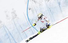 Gutiérrez no acaba l'eslàlom FIS d'Àustria en el seu retorn