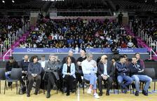 Un miler d'infants assisteixen a una acció de l'ACB contra el 'bullying'