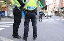 Detingut per robar més de 6.000 euros del lloc de feina